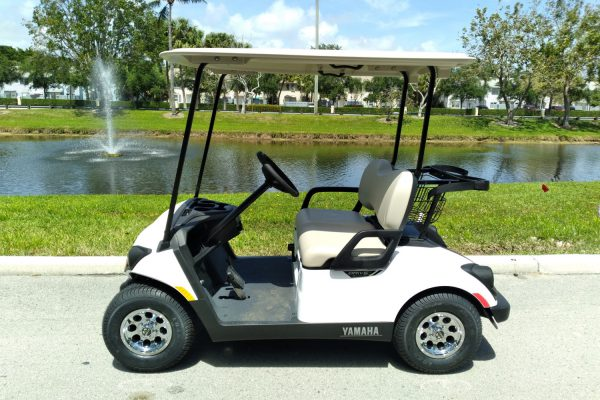 2021 New Yamaha Drive 2 Gas Fuel Injected Golf Car (1)
