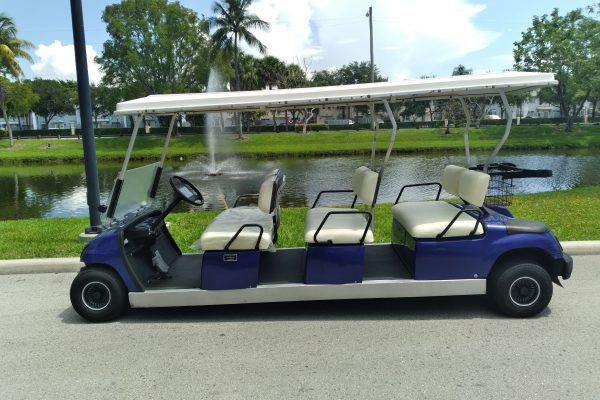 6 Seater Concierge Used Golf Cart (1)