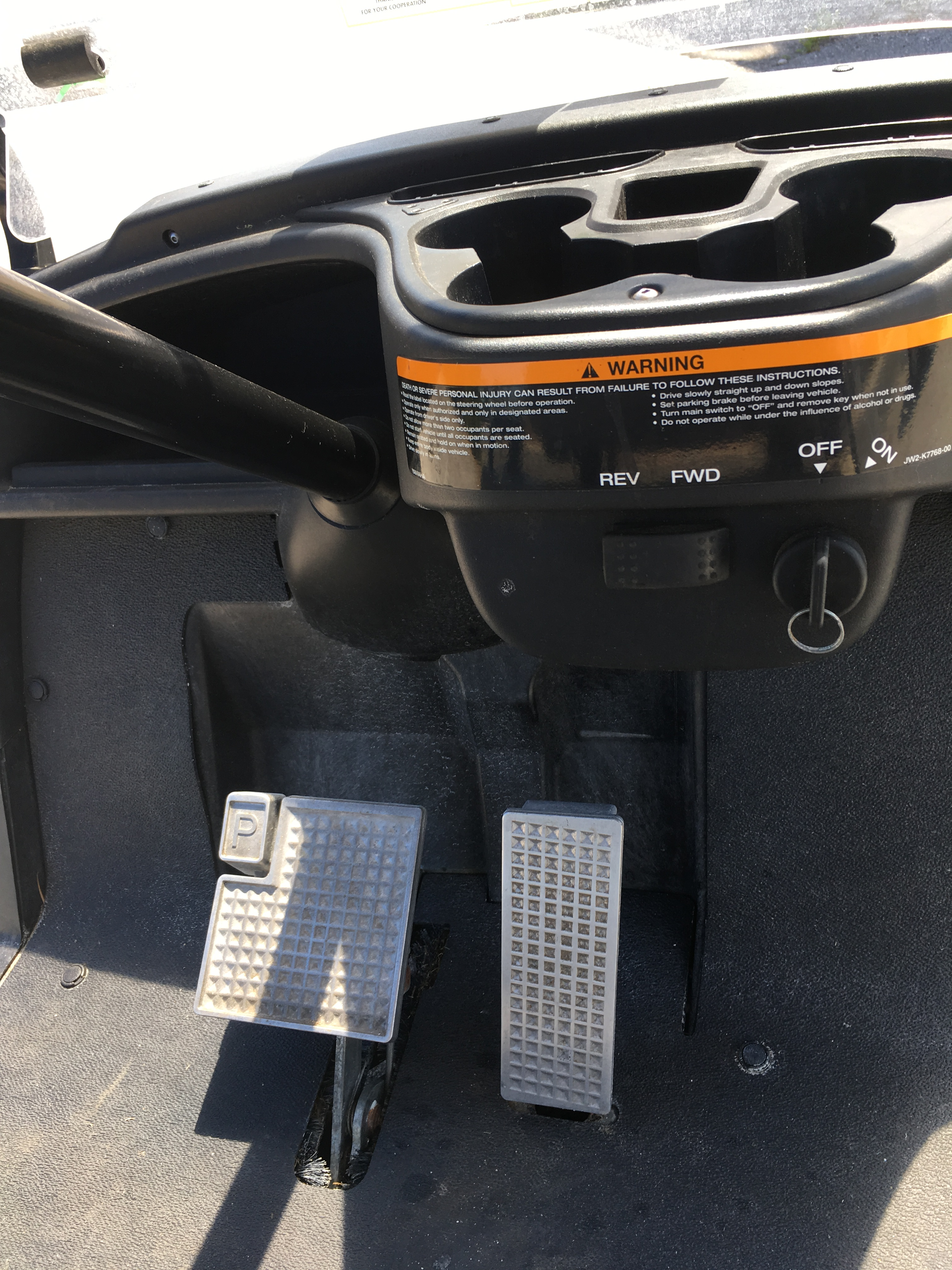 2013 Yamaha Electric Golf Cart 2 passenger